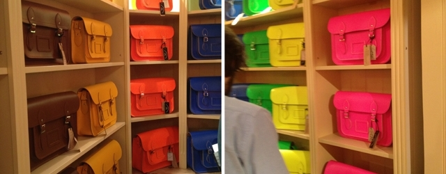 Colours of Satchel bags