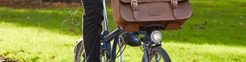 The Satchel bag — a great choice for a bike ride